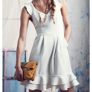 Anthropologie Maeve Sunland White dress 4